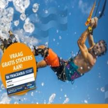 Gratis Gratis Be Traceable sticker