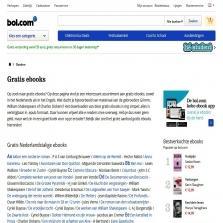 Gratis diverse bol.com ebooks