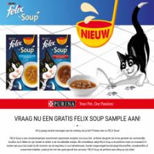 Gratis Felix katten Soup sample