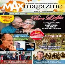 Gratis een Proefnummer van MAX Magazine