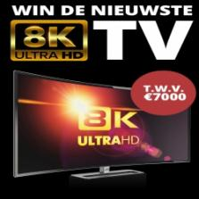 Win een 8K TV