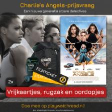Win een Charlie's Angels prijzenpakket