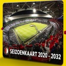Win een Feyenoord seizoenkaart voor 12 seizoenen