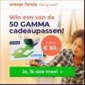Win een Gamma cadeaupas t.w.v. €50,-