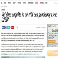 Win een goodiebag t.w.v. €250,-