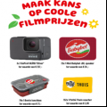 Win een GoPro camera, JBL speaker, lunchbox of Pathé Thuis voucher