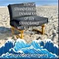 Win een Strandbank met All Weather palletkussens t.w.v. €309,-